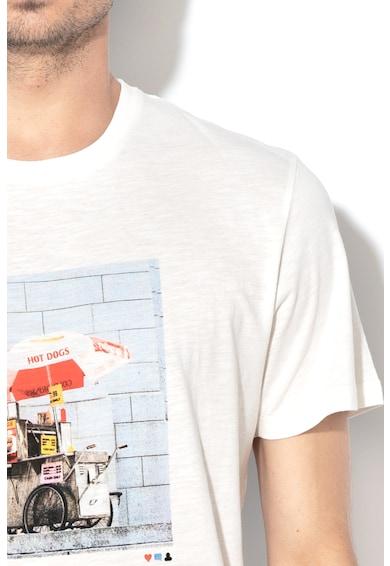 Jack&Jones Enzu mintás és feliratos póló férfi