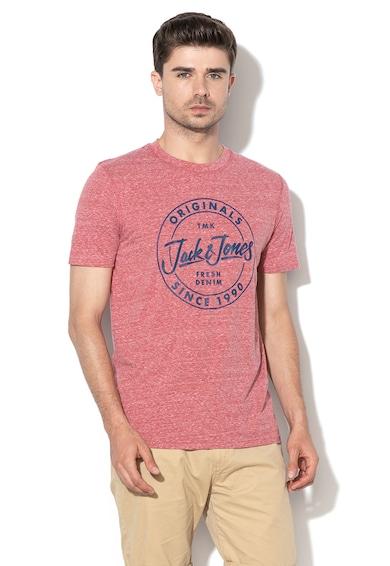 Jack&Jones Really feliratos szűk fazonú póló férfi