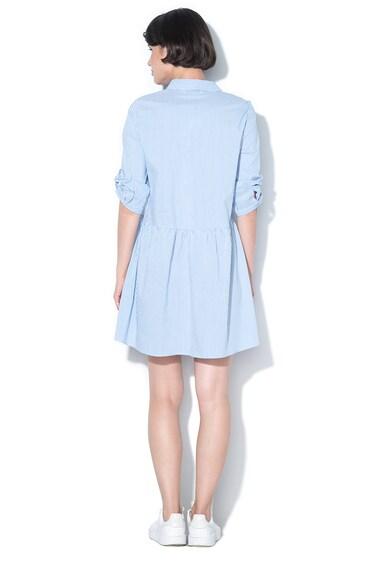 Only Разкроена раирана рокля рип риза Dash Жени