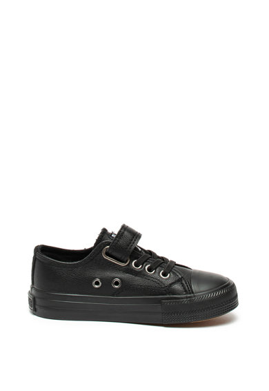Big Star Pantofi sport de piele ecologica cu logo Fete