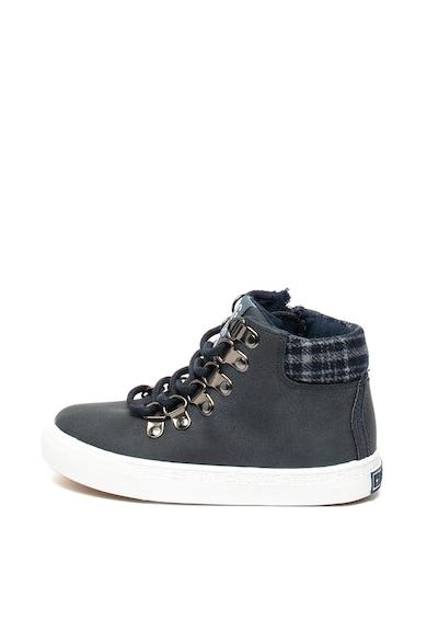 Big Star Pantofi sport mid-high cu insertii de material textil Fete