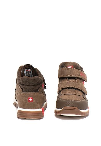 Big Star Pantofi sport de piele ecologica, cu benzi cu velcro Fete
