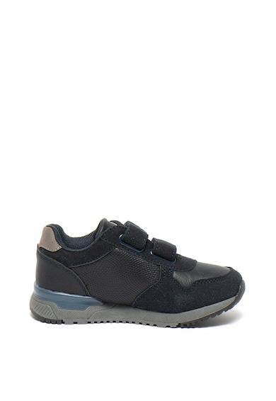 Big Star Pantofi sport de piele ecologica, cu velcro Fete