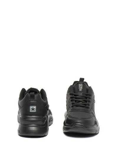 Big Star Pantofi sport de piele ecologica, cu aplicatie logo Femei