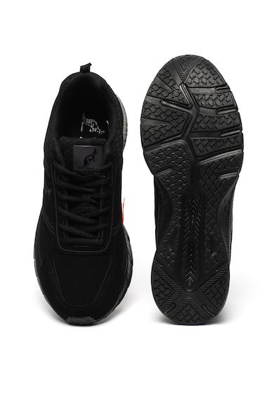 Australian Pantofi sport de piele ecologica, cu insertii din material textil Barbati