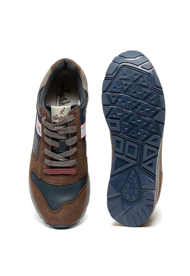 Australian Sneaker műbőr részletekkel férfi