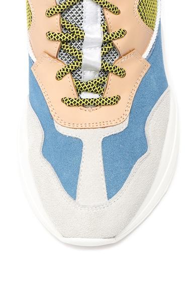 Liu Jo Jog Colorblock sneaker nyersbőr szegélyekkel női