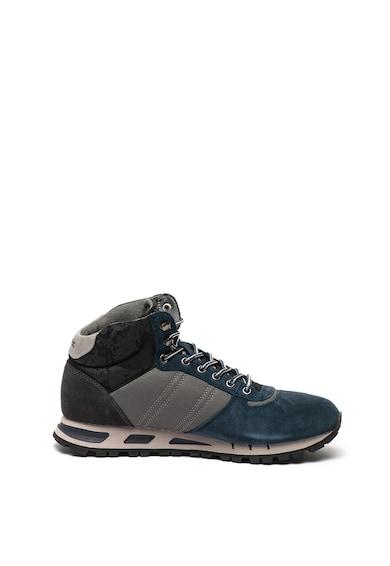 Blauer Pantofi sport mid-high cu garnituri de piele intoarsa Mustang Barbati