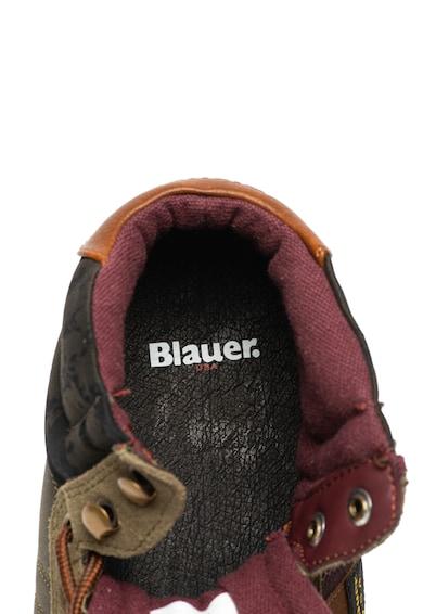 Blauer Mustang középmagas szárú sneaker nyersbőr szegélyekkel férfi