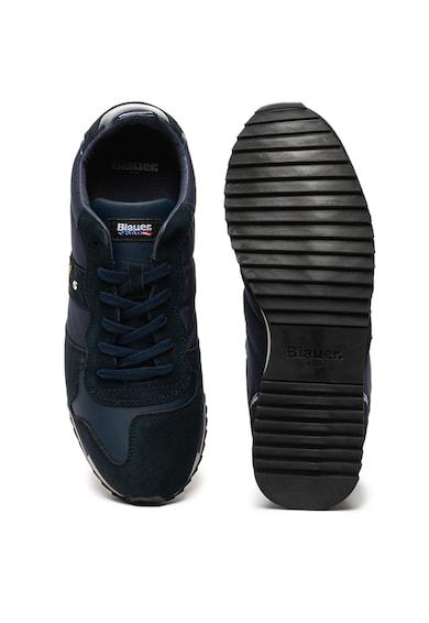 Blauer Queen sneaker nyersbőr szegélyekkel férfi