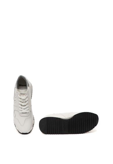 Blauer Pantofi sport wedge de piele Charlotte Femei