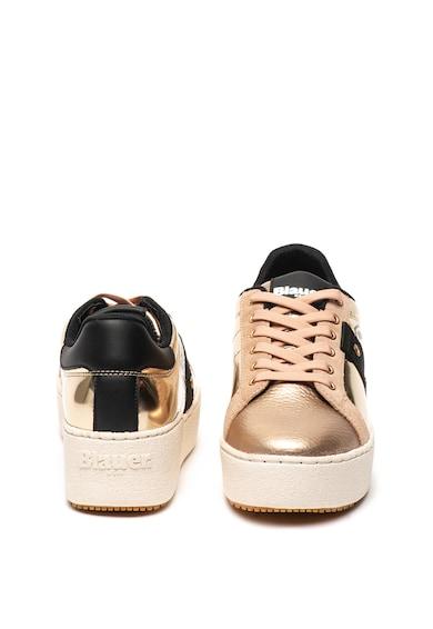 Blauer Кожени спортни обувки Madeline с равна платформа Жени