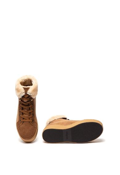 Blauer Madeline flatform cipő nyersbőr részletekkel női