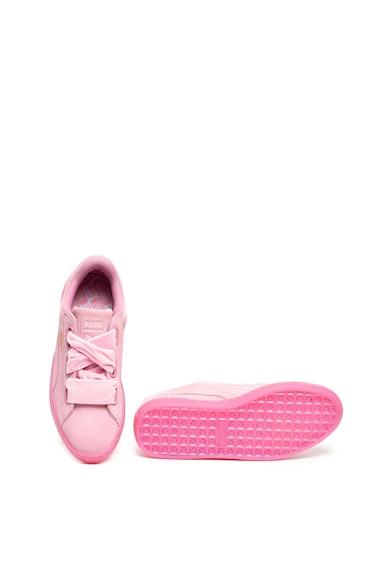 Puma Велурени спортни обувки Heart Reset Жени