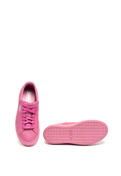 Puma Велурени спортни обувки Basket Reset Жени
