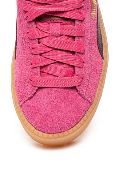 Puma Велурени спортни обувки Trace Block Жени