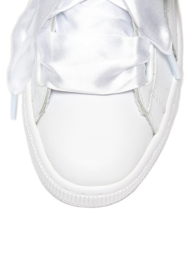 Puma Кожени спортни обувки Basket Heart Diamon Crush Жени