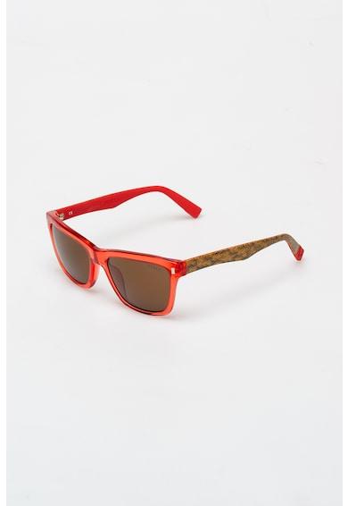 Furla Szögletes napszemüveg texturált hatású részletekkel női