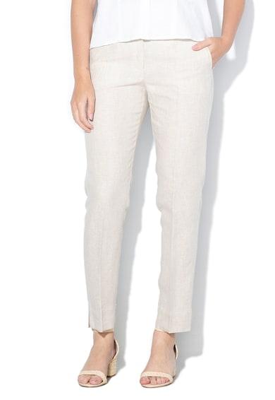 Pennyblack Ленен панталон Lavanda с ръб Жени