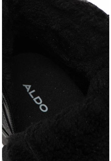 Aldo Abreau rövid szárú bőrbakancs filcszegéllyel férfi