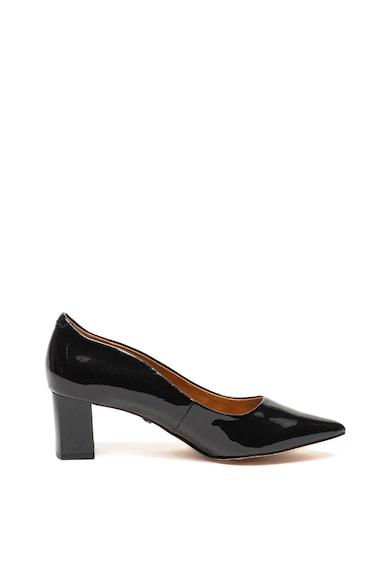 Caprice Pantofi de piele lacuita, cu varf ascutit Femei