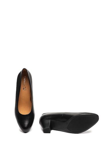 Caprice Кожени обувки с кубински ток Жени