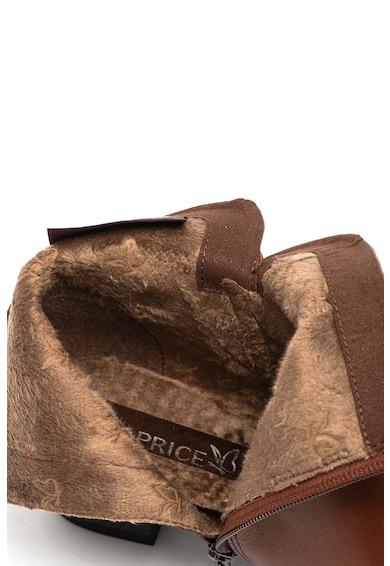 Caprice Кожени боти с каишки с възел Жени