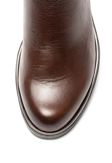 Caprice Ghete de piele cu garnitura cu aspect de piele de sarpe Femei