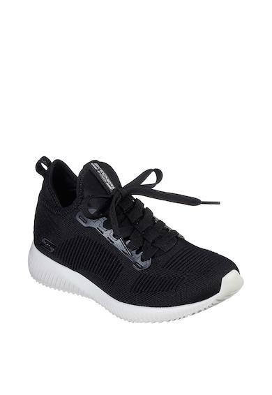 Skechers Pantofi sport slip-on din material usor Bobs Squad-Covert Style Femei