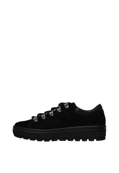 Skechers Pantofi sport de piele intoarsa Street Cleats 2 Femei