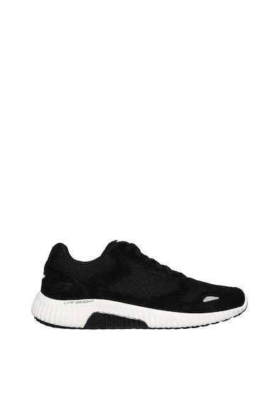 Skechers Pantofi sport cu insertii de piele intoarsa Paxmen Barbati