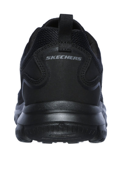Skechers Pantofi sport de piele, cu insertii textile Track Scloric Barbati