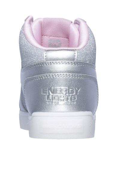 Skechers Pantofi sport cu LED-uri Glitter Glow II Fete
