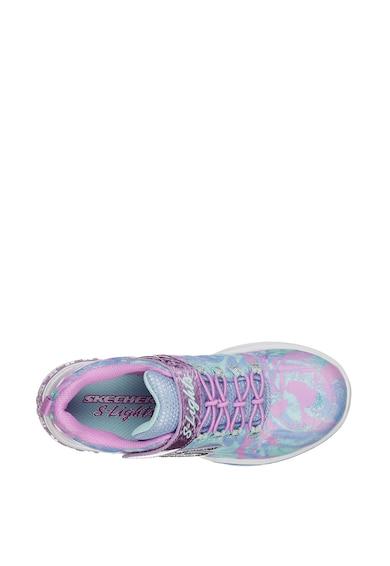 Skechers Pantofi sport cu talpa cu LED-uri Power Petals Fete