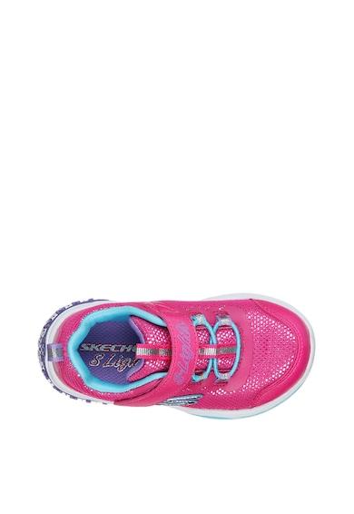 Skechers Pantofi sport cu LED-uri Power Petals Fete