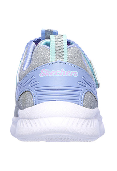 Skechers Pantofi sport cu particule stralucitoare Comfy Flex 2.0 Fete
