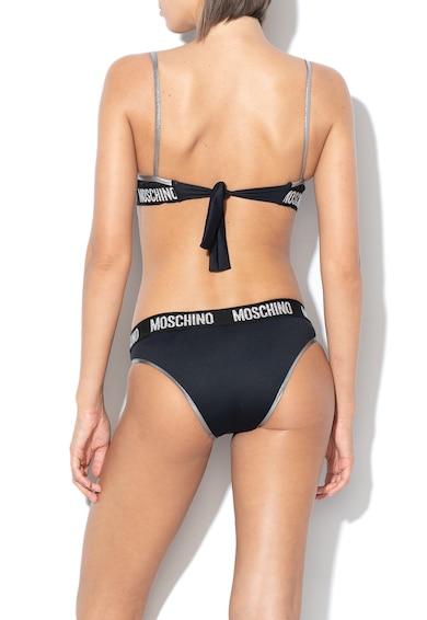 Moschino Sutien de baie cu banda logo in talie Femei
