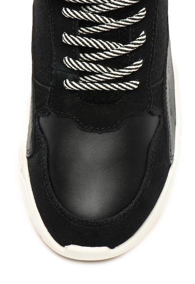 Gant Спортни обувки Madison с кожени детайли Жени
