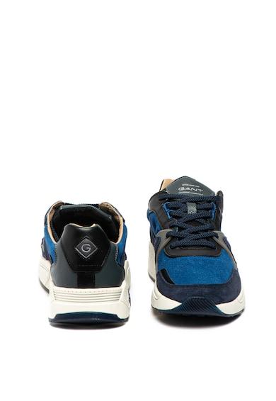 Gant Pantofi sport de piele, cu insertii de piele intoarsa Portland Barbati