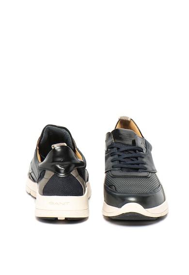 Gant Pantofi sport de piele cu insertii tesute Delaware Barbati