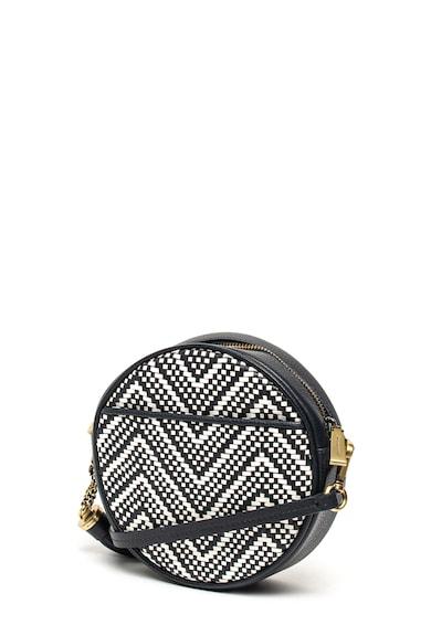 Michael Kors Bőr keresztpántos táska geometrikus mintával női
