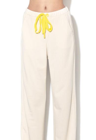 Max&Co Pantaloni sport din amestec de lyocell, cu croiala ampla Femei