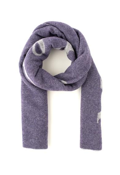 Max&Co Esarfa din amestec de lana, cu logo Alato Femei