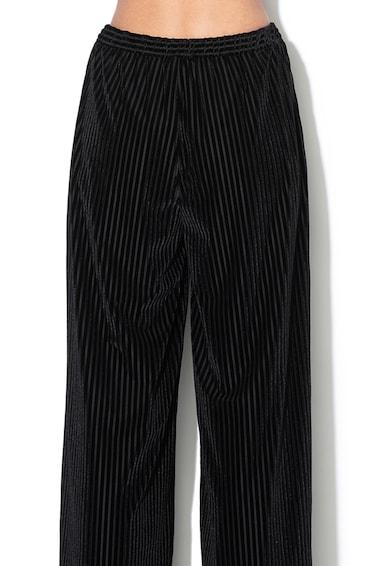 Max&Co Pantaloni relaxed fit cu aspect de reiat Prateria Femei