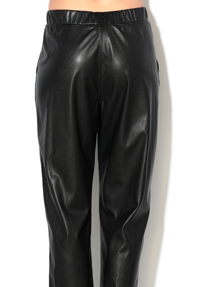 Max&Co Pantaloni crop de piele ecologica Femei