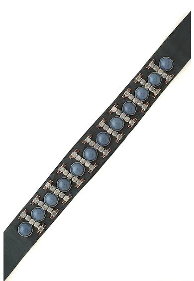 Max&Co Curea din material textil decorata cu strasuri Alogena Femei