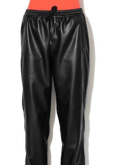 Sportmax Code Панталон Sospiro от еко кожа с връзка Жени