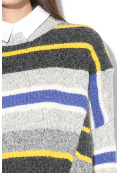 Sportmax Code Pulover din amestec de lana si lana alpaca cu decolteu la baza gatului Corvino Femei