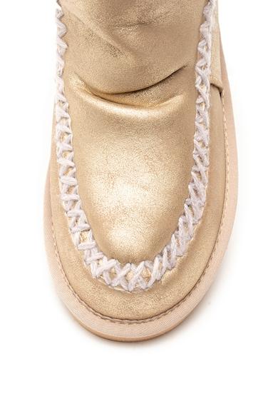 Gioseppo Ghete de piele ecologica, cu captuseala de blana shearling sintetica Femei