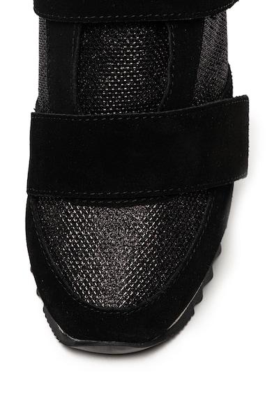 Gioseppo Pantofi sport de piele intoarsa cu velcro Femei